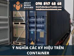 Ý nghĩa các ký hiệu trên Container  của Xuất Nhập Khẩu Nhật Minh Khánh