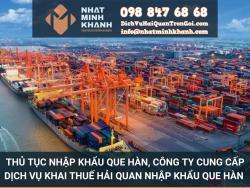 Thủ tục nhập khẩu que hàn, công ty cung cấp dịch vụ khai thuế hải quan nhập khẩu que hàn