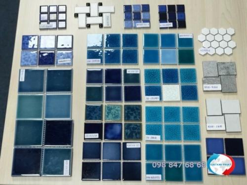 Thủ tục nhập khẩu gạch ngoại thất Mosaic dùng trang trí trong xây dựng, hồ bơi (1)