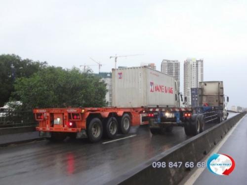 Vận chuyển container bằng đường bộ từ Dịch Vụ Hải Quan Trọn Gói - XNK Đại Kim Phát