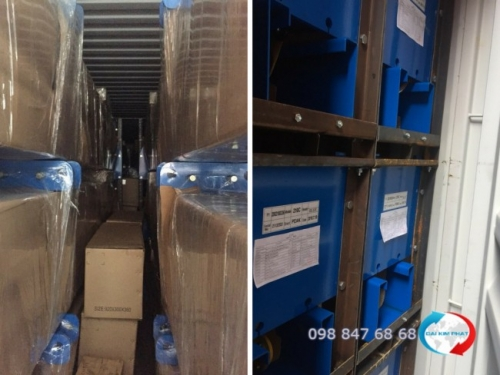 Hải quan kiểm tra lô hàng tạm nhập tại Việt Nam và tái xuất sang Campuchia - dịch vụ khai báo hải quan hàng tạm nhập tái xuất từ Dịch Vụ Hải Quan Trọn Gói - XNK Đại Kim Phát (4)