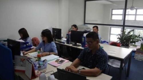 Văn phòng công ty xuất nhập khẩu Đại Kim Phát