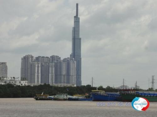 Vận chuyển hàng hóa bằng xà lan từ TPHCM đi các tỉnh miền Tây - dịch vụ cung cấp bởi Dịch Vụ Hải Quan Trọn Gói - XNK Đại Kim Phát