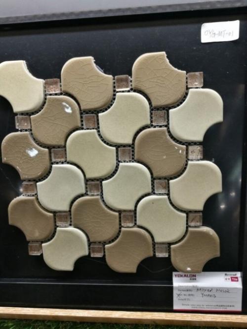 Gạch Mosaic tạo hình hoa văn, họa tiết độc đáo - mọi hỗ trợ thủ tục nhập khẩu gạch vui lòng liên hệ Dịch Vụ Hải Quan Trọn Gói - XNK Đại Kim Phát