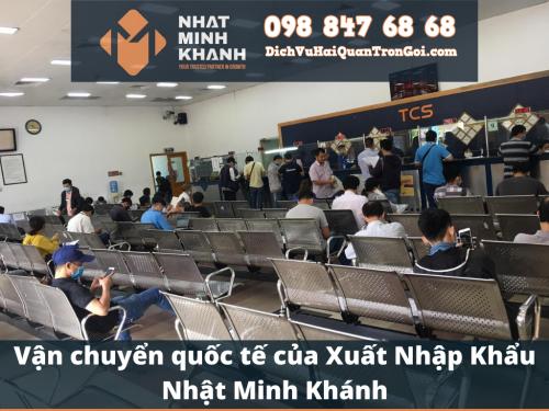 Vận chuyển quốc tế của Xuất Nhập Khẩu Nhật Minh Khánh